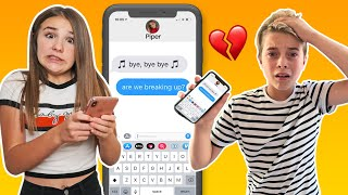 SONG LYRIC PRANK ON BOYFRIEND Turns Into REAL BREAK UP **emotional**💔💧| Piper Rockelle