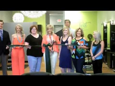 Twist Salon Ribbon Cutting