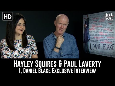 "Hayley Squires & Paul Laverty Exclusive Interview – ""I, Daniel Blake"""