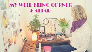 My WellBeing Corner and Altar/Meditation table. Hoping to inspire you to create your own, if you don't already have one.SUBSCRIBE to AnitaGoaTV: http://www.youtube.com/c/AnitaGoaTVYou can find all the information on my Blog: http://anitagoa.com/yoga-2/wellbeing-corner-altar-meditation-table/FOLLOW ANITA ON SOCIAL MEDIA :*INSTAGRAM: https://instagram.com/AnitaGoa *FACEBOOK: http://www.facebook.com/anitagoatv*TWITTER: https://twitter.com/AnitaGoa*WEBSITE: http://www.anitagoa.comNEWSLETTER: http://anitagoa.com/anita/newsletter/