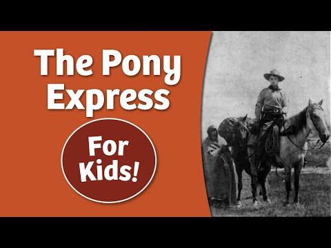 Pony Express For Kids