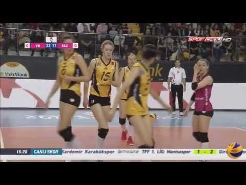 Vakifbank vs Eczacibasi VitrA   18 Feb 2017   Turkish Women's Volleyball League 2016/2017 (видео)