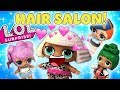 Download Lagu Diva's Hair Salon! The LOL Dolls Dawn, Rocker, and MC Swag Get New Hairstyles! Mp3 Free