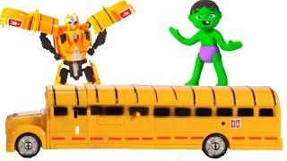Video BABY HULK PLAYS WITH TRANSFORMERS ❤ Spiderman, Hulk & Frozen Play Doh Cartoons For Kids MP3, 3GP, MP4, WEBM, AVI, FLV Juli 2018