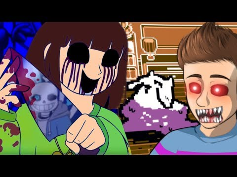 UNDERTALE.EXE HAS NEVER BEEN THIS SCARY! - CHARA: HIDE AND SEEK [Undertale GENOCIDE Horror Game]