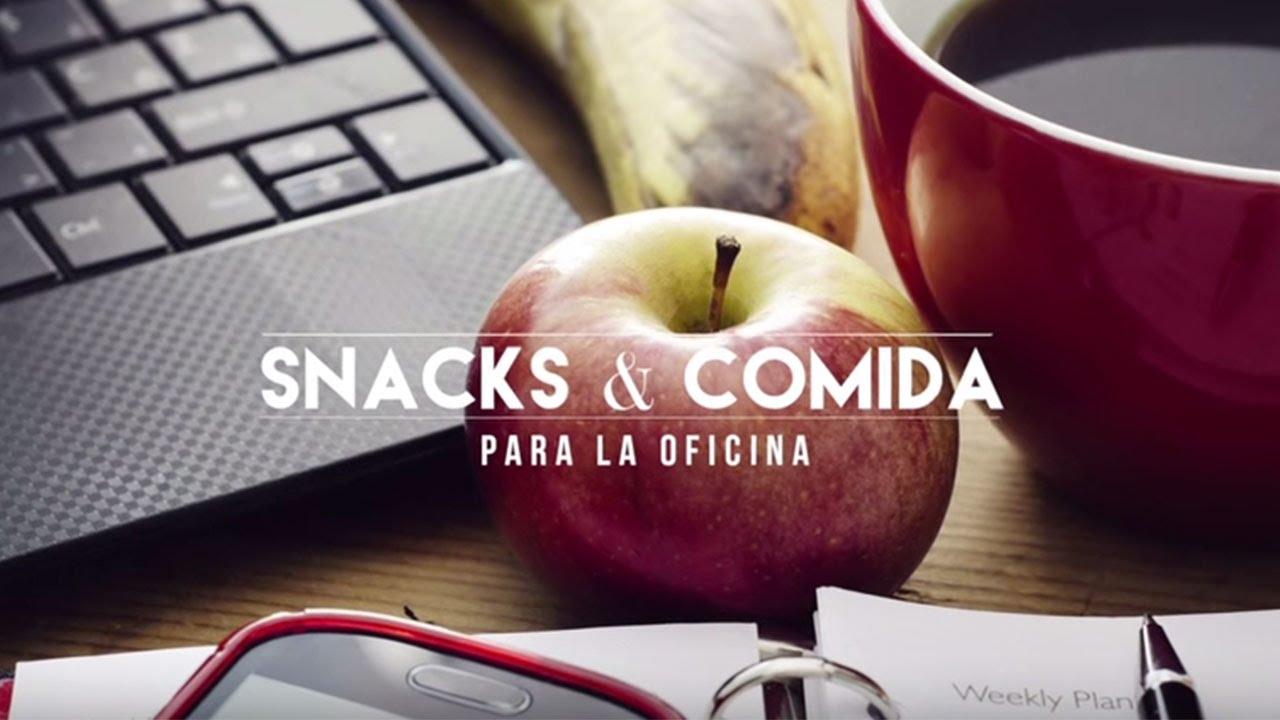 Lectura de etiquetas: Snacks y comida para la oficina