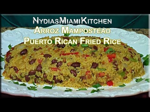 Arroz Mamposteao - Puerto Rican Fried Rice Style