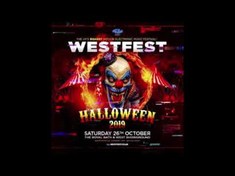 Fracus & Darwin with MC Energy @ Westfest 2019, Shepton Mallet 26.10.19