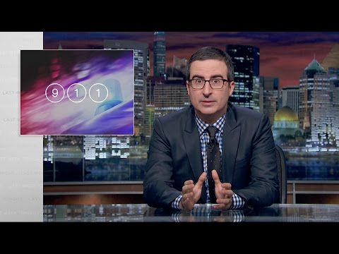 John Oliver Explains How Calling 911 Is Broken