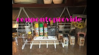 Dollar Tree DIY Small Space Storage Solution | Repurposed Ideas for Home Organization