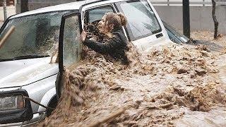 Flooded Britain 2014 P2 British Floods & Storms UK Weather England & Scotland & Wales 2014