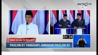 Video Debat Kelima Pilpres Part 4: Prabowo Menghindar Pertanyaan Jokowi Soal Ekonomi Digital MP3, 3GP, MP4, WEBM, AVI, FLV April 2019