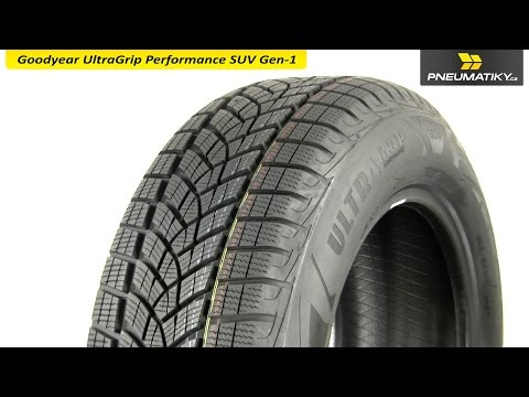 Youtube Goodyear UltraGrip Performance SUV Gen-1 235/55 R19 105 V XL Zimní