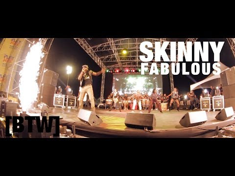 fabulous - Gamal Doyle aka Skinny Fabulous performs his hit Soca track
