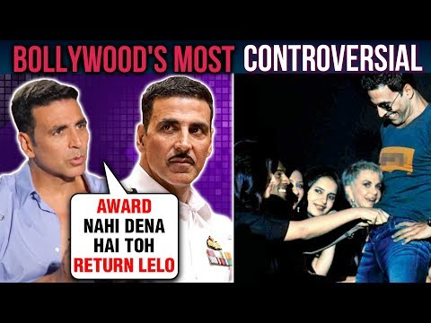 Akshay Kumar's BIGGEST Controversies And UGLY Figh