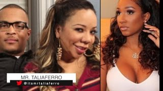"""T.I. Alleged New Gf Bernice Calls Out Wife Tiny & Denies Anything Going On With Her """"Friend"""" TIP"""