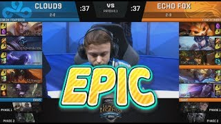 Video [EPIC] C9 (Svenskeren Jax) VS FOX (Dardoch Sejuani) Highlights - 2018 NA LCS Spring W2D1 MP3, 3GP, MP4, WEBM, AVI, FLV Juni 2018