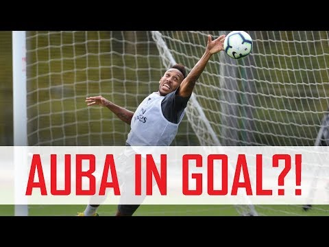 🤔 Aubameyang in goal?! Plus Mkhitaryan's free-kick madness | Behind the scenes
