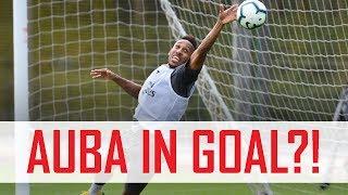 Video 🤔 Aubameyang in goal?! Plus Mkhitaryan's free-kick madness | Behind the scenes MP3, 3GP, MP4, WEBM, AVI, FLV Desember 2018