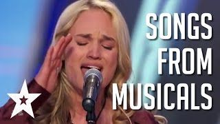 6 Wonderful Performances Of Songs From Musicals | Got Talent Global