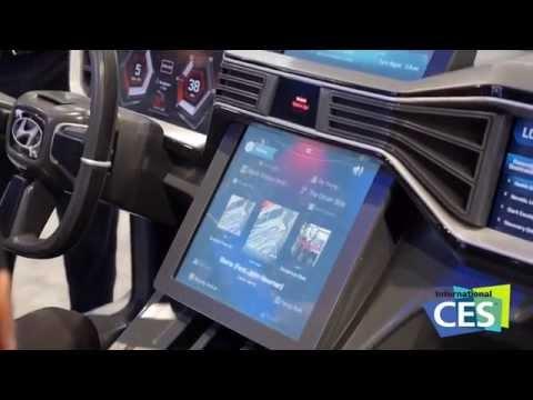 CES 2015: Hyundai per Smartwatch bedienen