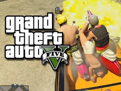 moments - GTA 5 Online Multiplayer Gameplay - Funny Moments! Like the video if you enjoyed! Thanks! Deluxe's Channel: http://www.youtube.com/user/TheDeluxe4 Jahova's C...