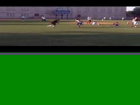 brooklyn blue devils WR vs. DB (видео)