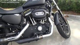 4. 2010 Harley Davidson Iron 883 Sportster