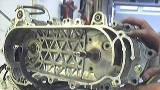 7. Replacing the final gear bearing on a Kymco Super9 1 of 2
