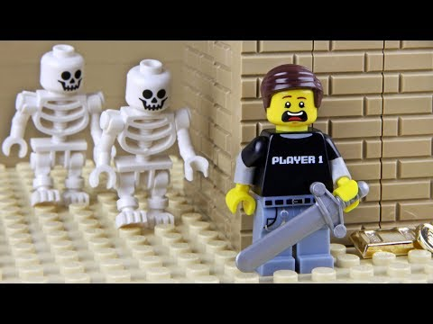 Lego Library - The Skeleton Attack