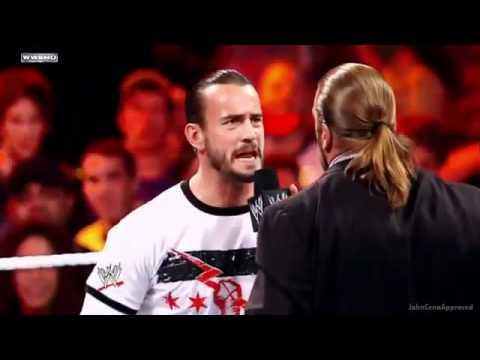 WWE Triple H Vs CM Punk Night Of Champions 2011 Promo *HD*