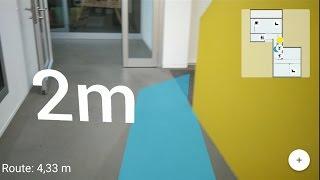 Indoor Navigation with Google Tango - CI release 0.7