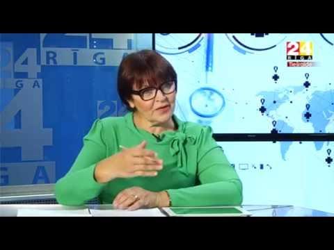 """Veselības ministres Andas Čakšas intervija Rīga TV24 raidījumā """"Dienas personība"""""""