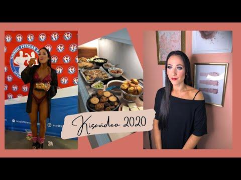 NFE 2020: ENSIMMÄISET WELLNESS FITNESS -KISAT | Herkuttelu kisojen jälkeen & fiilikset sijoituksesta
