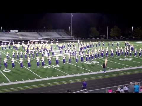 Jackson High School Marching Band 2014-2015 First Half