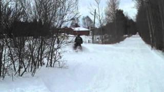 10. Drift banging ski doo 550 f