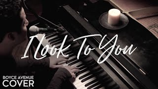 Whitney Houston - I Look To You (Boyce Avenue piano acoustic cover) on iTunes