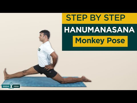 Hanumanasana (Monkey Pose)