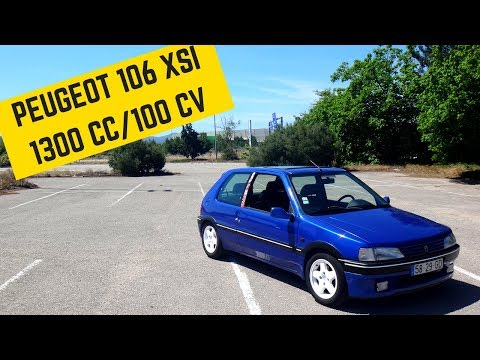 Peugeot 106 1.3 XSI  - Portugal Stock And Modified Car Reviews