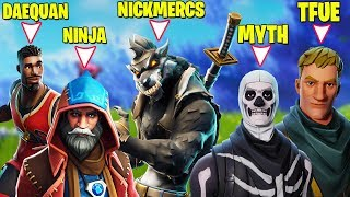 Video STREAMERS HAVING 1V1 IN PUBLIC LOBBY! *BOTH POVS* (Ninja, Tfue, Myth, Daequan, Cloakzy, Hamlinz etc) MP3, 3GP, MP4, WEBM, AVI, FLV Desember 2018