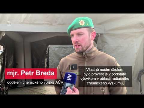 20 let v NATO:  31. pluk radiační, chemické a biologické ochrany