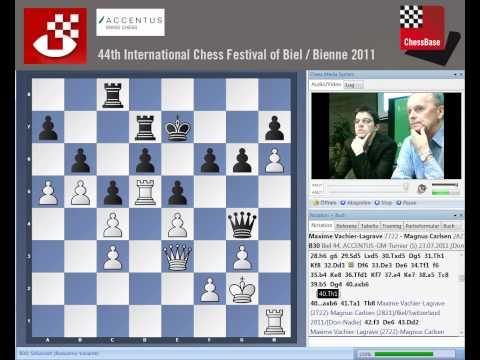 Maxime Vachier-Lagrave – Magnus Carlsen Biel Bienne 2011 Round 5 Analysis