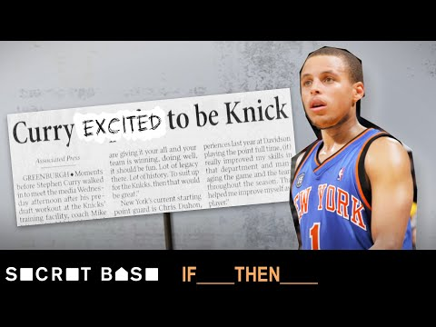 Video: Steph Curry was one year away from being a Knick | If Then