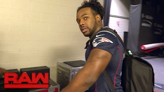 Watch: Xavier Woods pays up after losing a Super Bowl bet: Raw Exclusive, Feb. 13, 2017