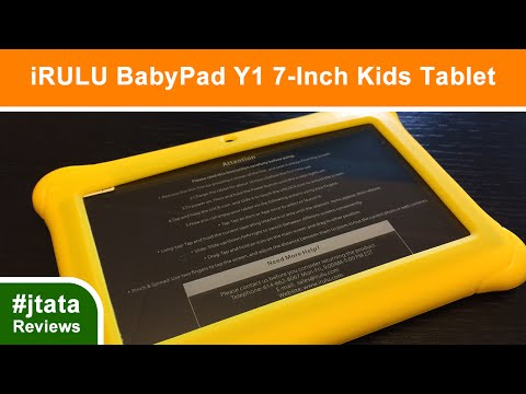 iRULU BabyPad Y1, 7-Inch Kids Android Tablet w 1GB RAM, 8GB Storage
