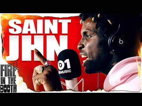 SAINt JHN – Fire In The Booth