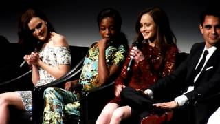 Alexis Bledel & Samira Wiley ('Handmaid's Tale') on how scary Ann Dowd is