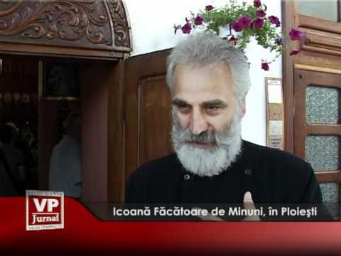 Icoană Făcătoare de Minuni, în Ploiești.