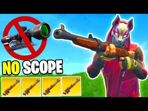 1vs1 NO SCOPE CHALLENGE!! (Giampy piange) - Fortnite CHALLENGE ITA