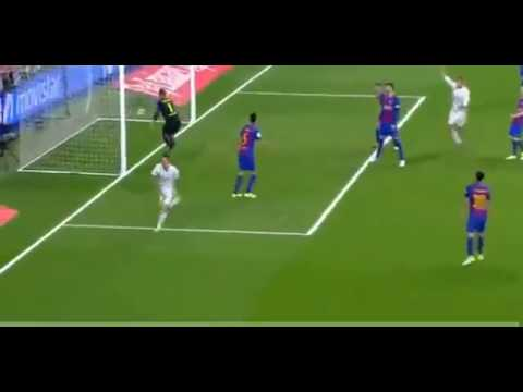 James Rodriguez Goal   Real Madrid vs Barcelona 2-2  la liga2017  23/04/2017